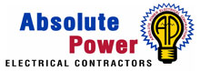 Absolute Power Electrical Contractors Logo